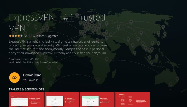 ExpressVPN Install on FireStick